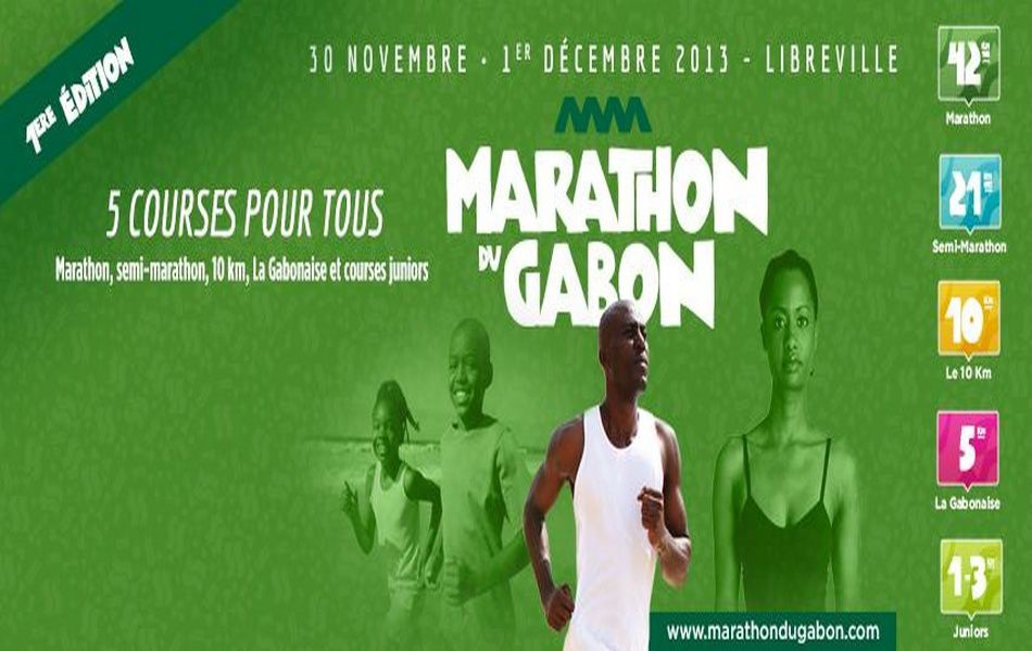 Le 1er Marathon international du Gabon