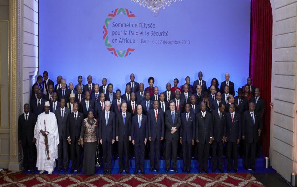 Sommet de l'Elysée sur la Paix et la Sécurité en Afrique : Déclaration finale