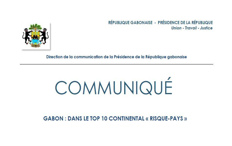 Le Gabon dans le top 10 continental « RISQUE-PAYS »