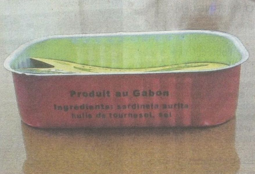Sardines made in Gabon