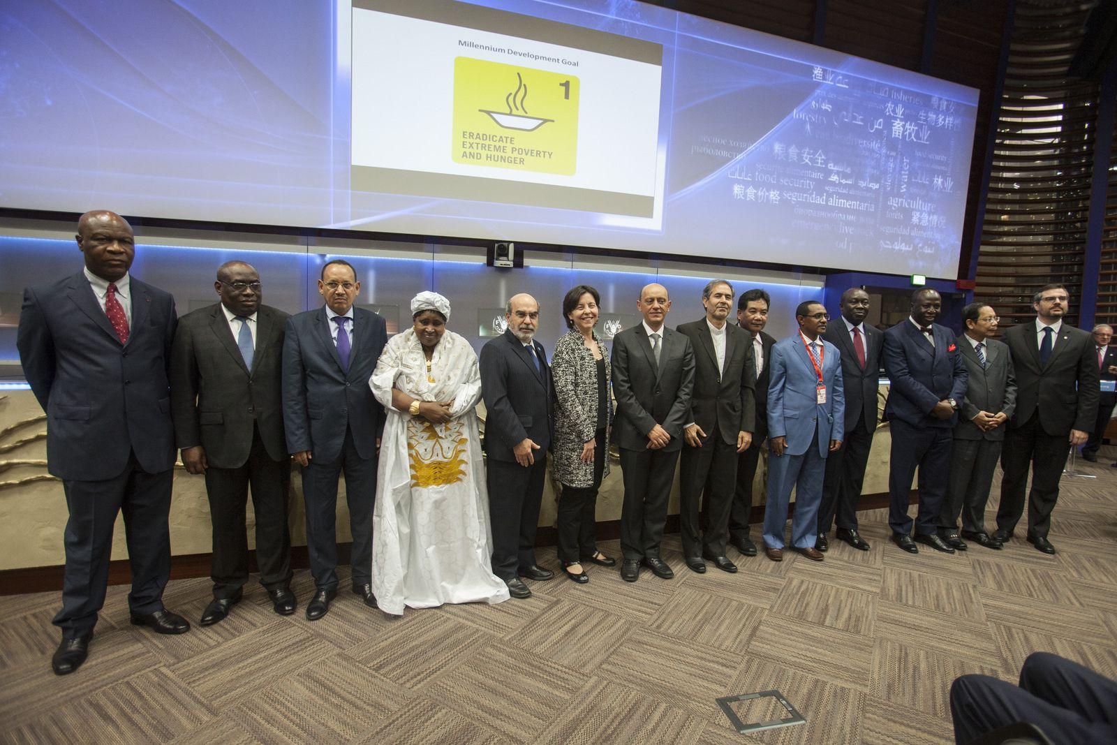 Le Gabon hautement honoré à Genève, reçoit les félicitations de la FAO