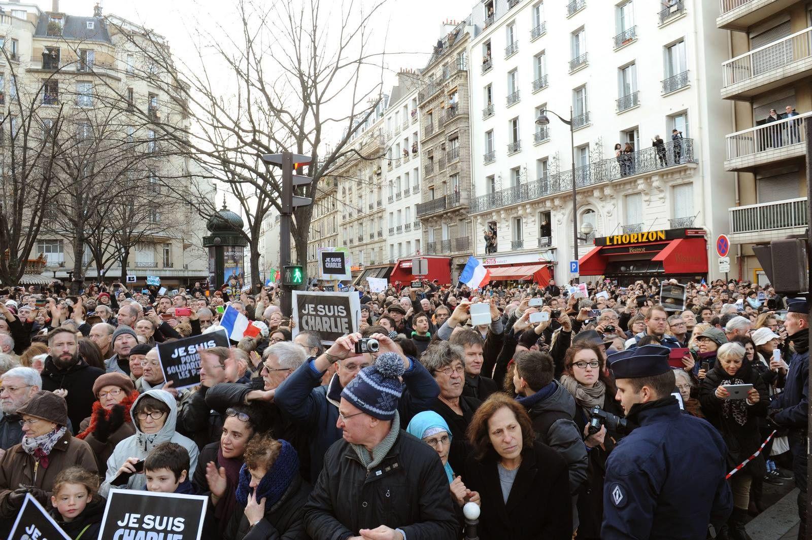 Marche républicaine à Paris : Le Président Ali Bongo Ondimba a battu le pavé