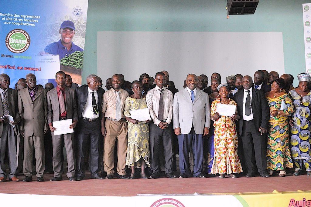 GRAINE : Première étape franchie dans l'Ogooué-Ivindo !