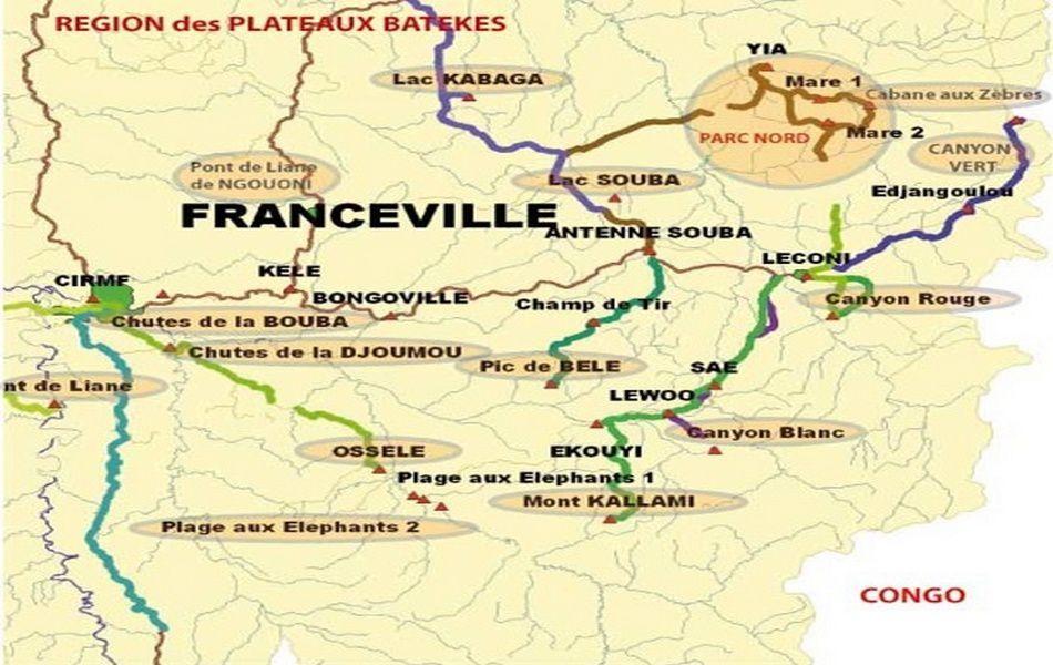 Municipales 2013 : Noms des vainqueurs et battus Province du Haut-Ogooué