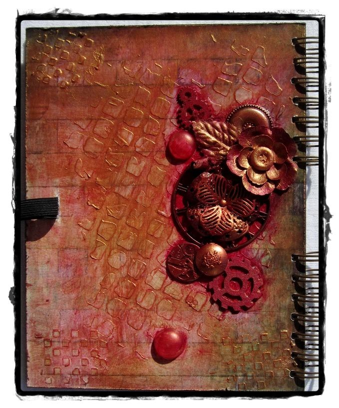 Grungy spell book