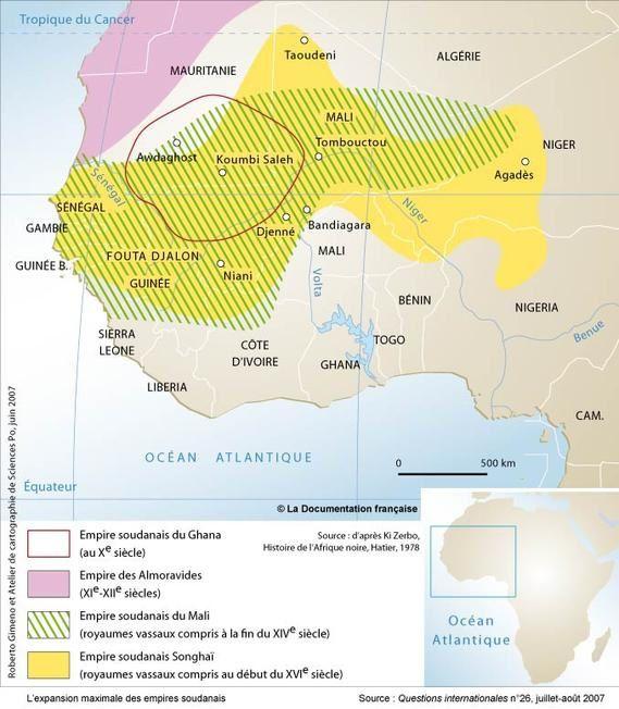 Les sultanats dans le bassin du Niger