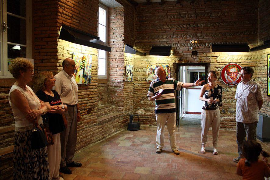 MEDEYA LEMDEYA expose au foyer d'Auterive