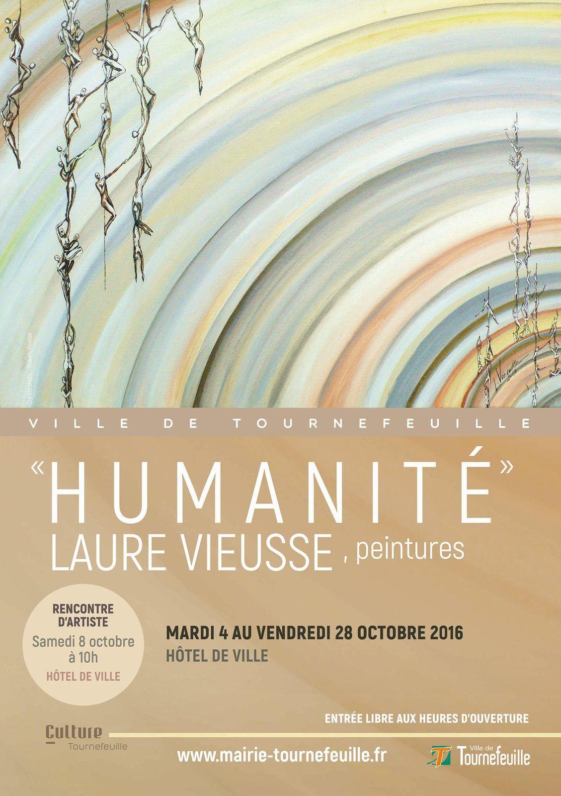 Laure VIEUSSE expose à Tournefeuille
