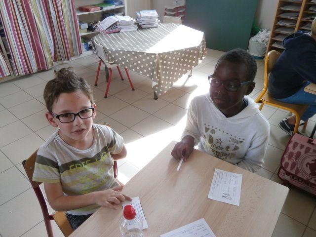 CP Sylvie et CM2 Romuald : faire connaissance