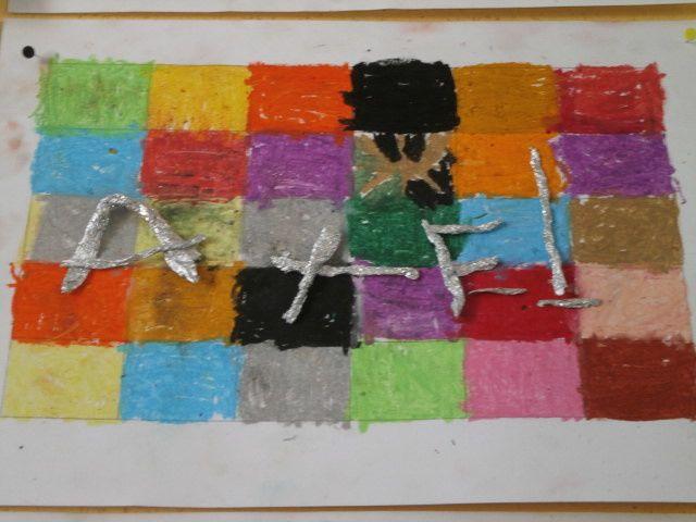 CP Sylvie : De l'art visuel avec les prénoms