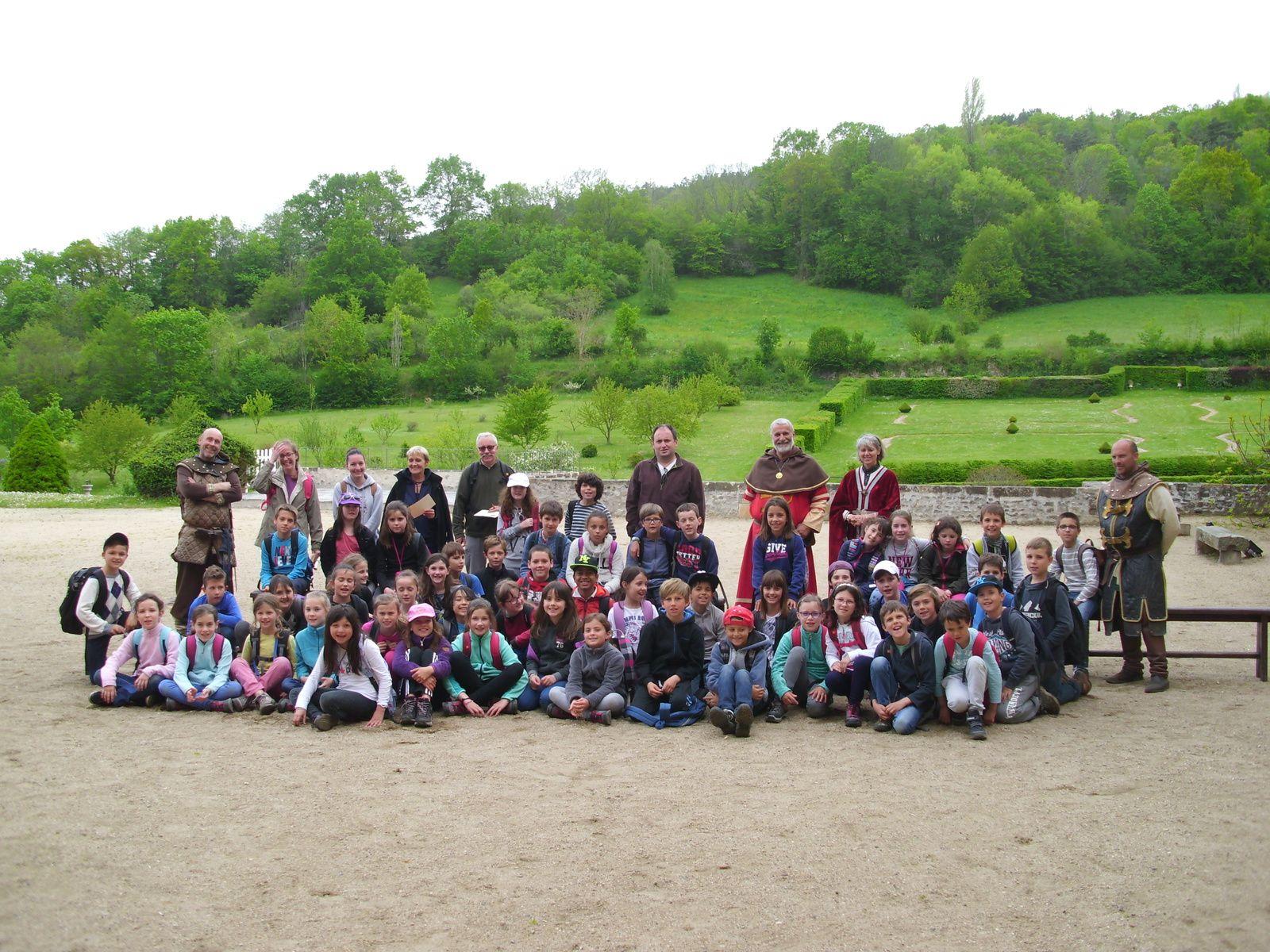 Les CM1 à la découverte de l'Auvergne