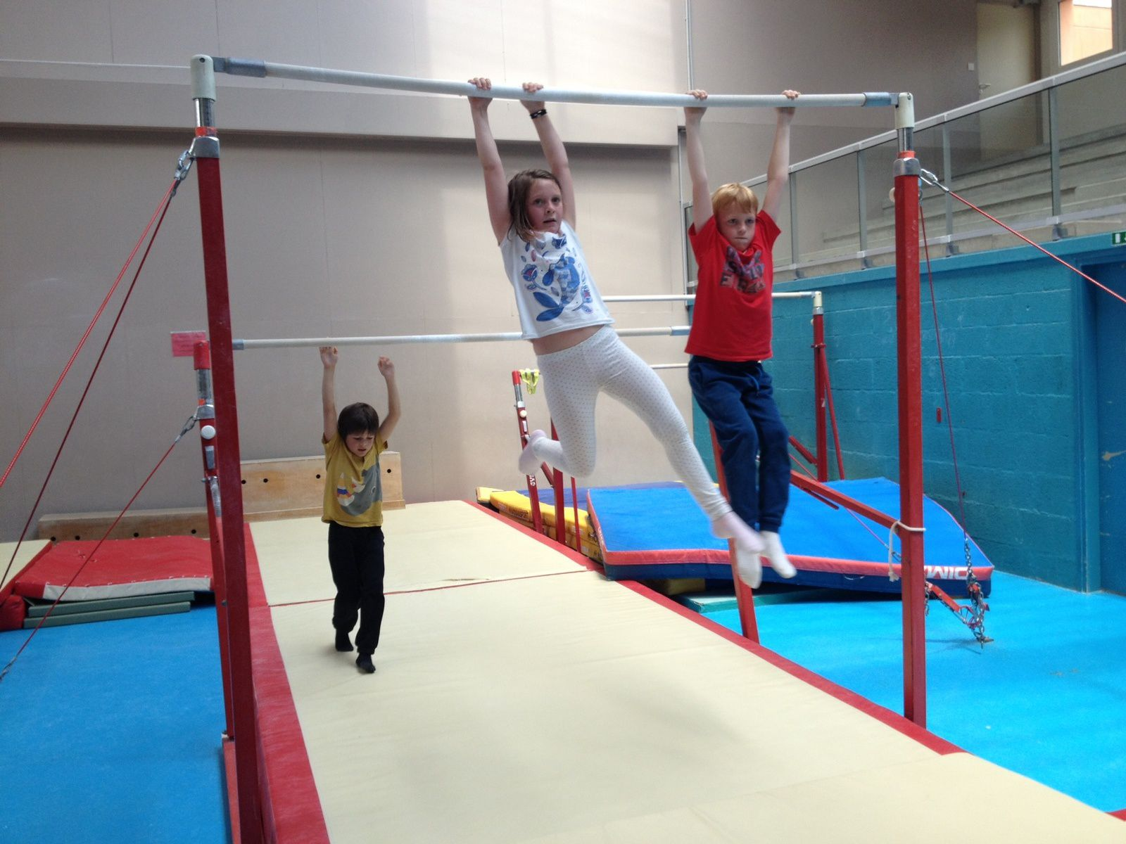Suite de la gym avec les élèves de Morgane