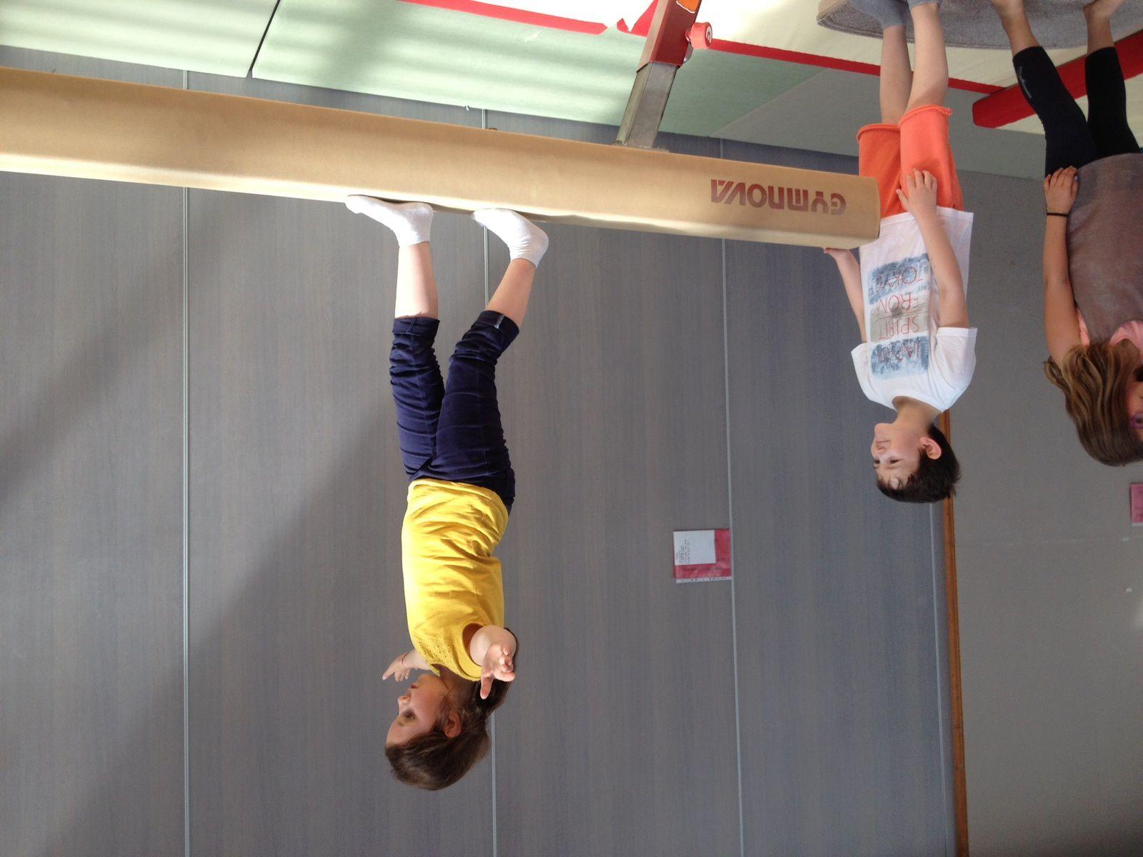 CE1-CE2 Morgane : dernier atelier de gym