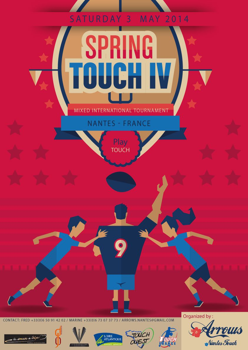 Last moments for Registrations &quot&#x3B; Springtouch IV &quot&#x3B; ! May 3rd 2014