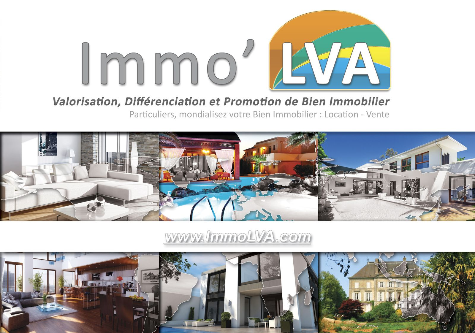 Immo'LVA Blown by B'Digital, powered by B'Leader, spread by B'Sociable, amplified by B'Press, energized by New3S, hosted by 3DWC.biz