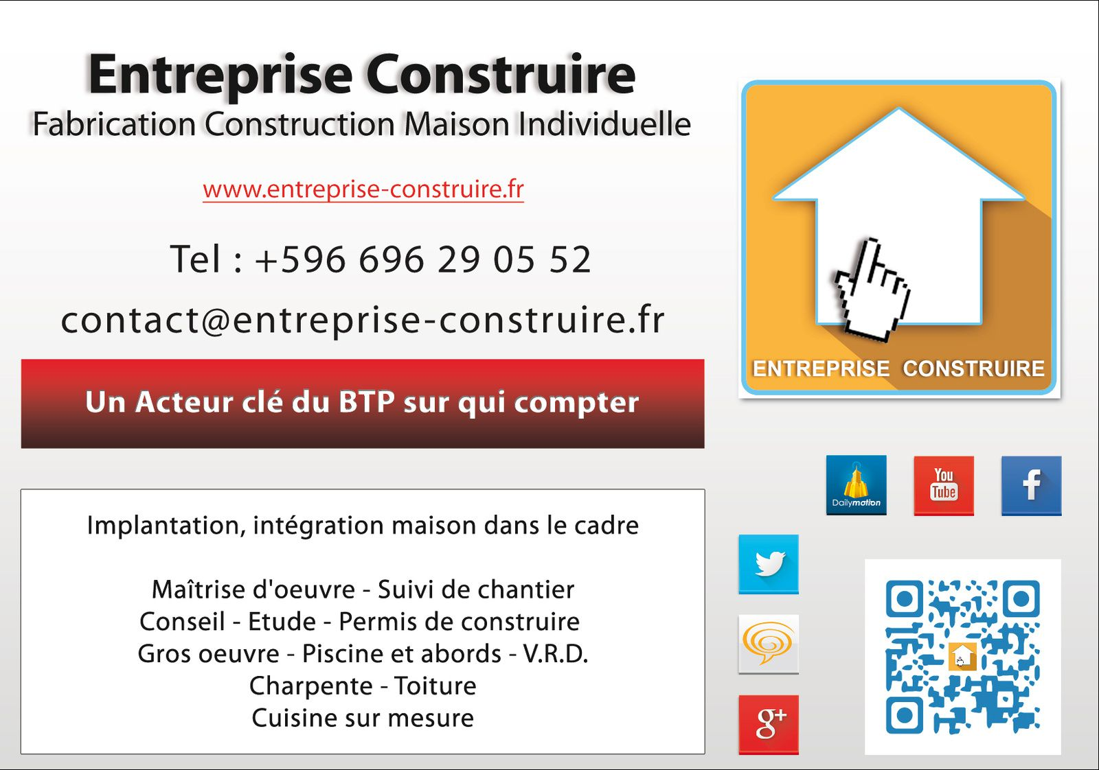 3d trade center for Entreprise de construction maison individuelle