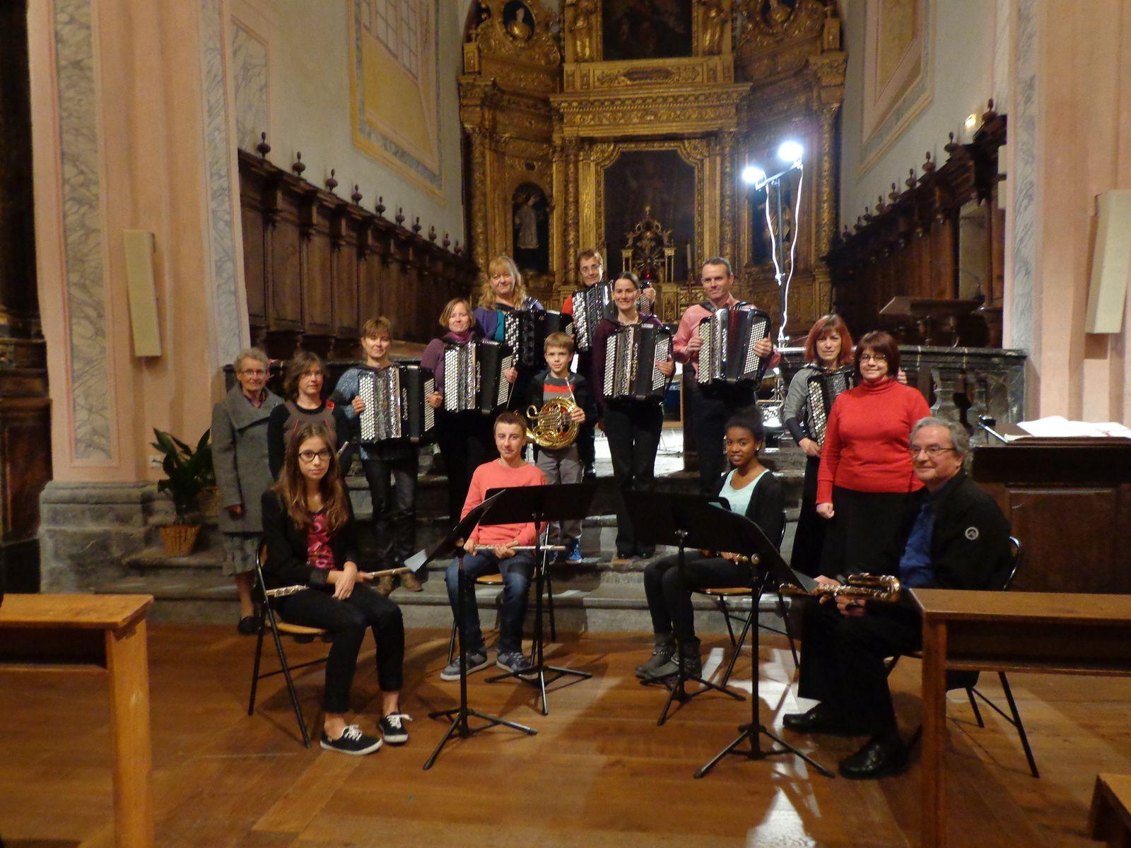 Concert avec les flûtes
