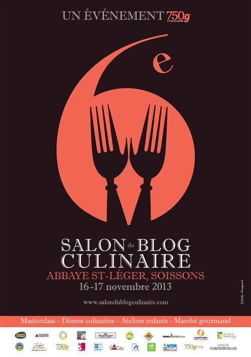 6ème salon du Blog Culinaire, ce WE à Soissons !