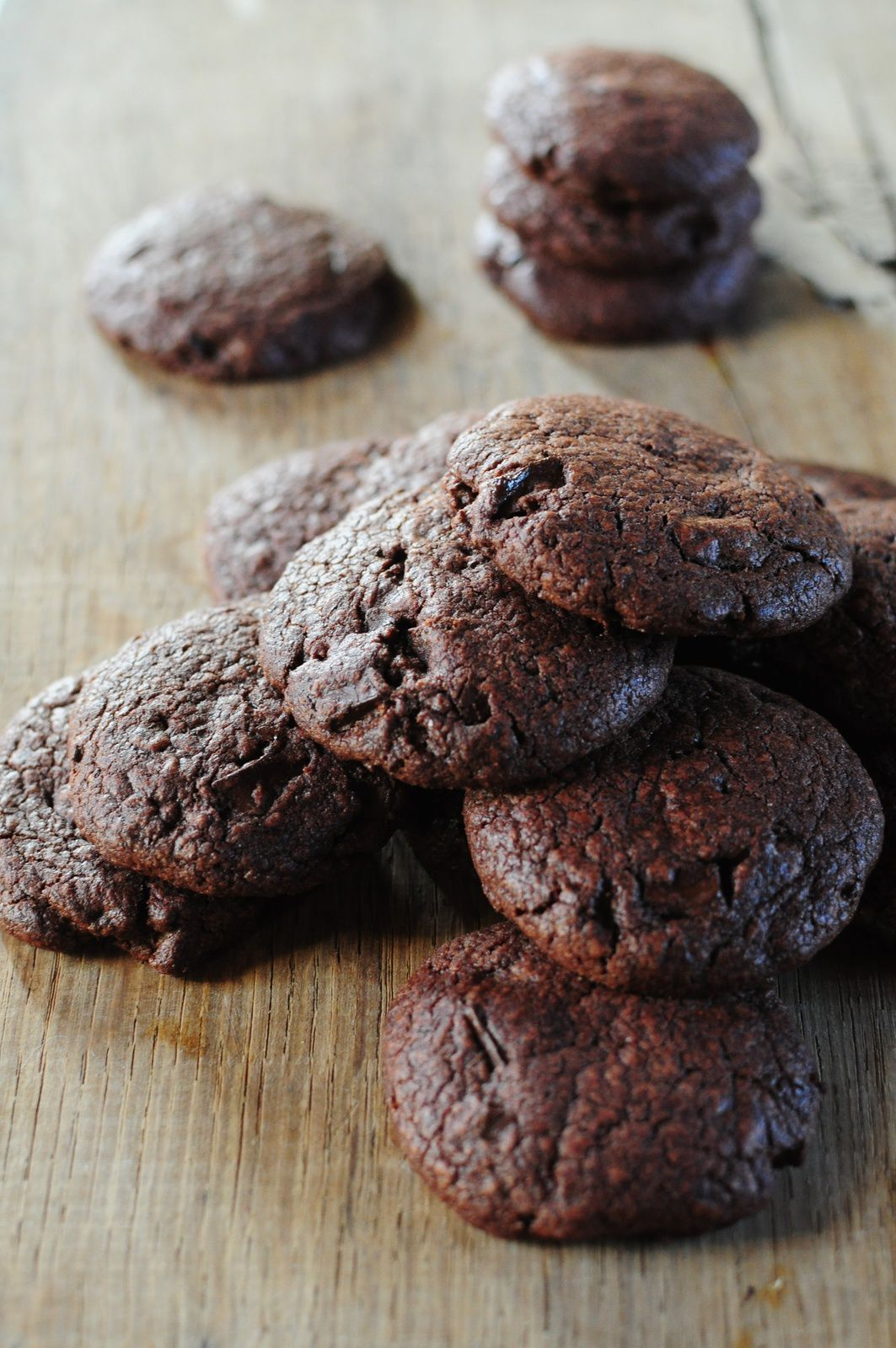 Chewy double chocolate cookies de chez GÜ