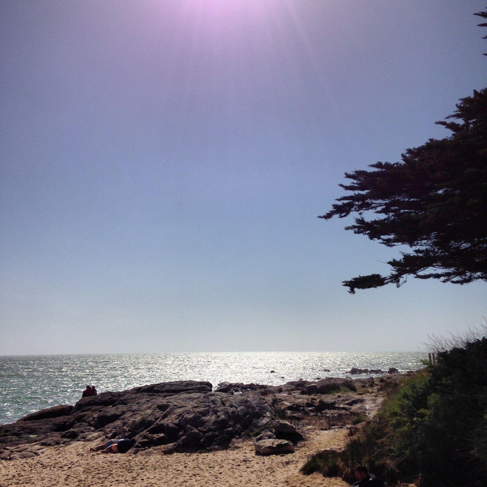 La plage de Luzeronde