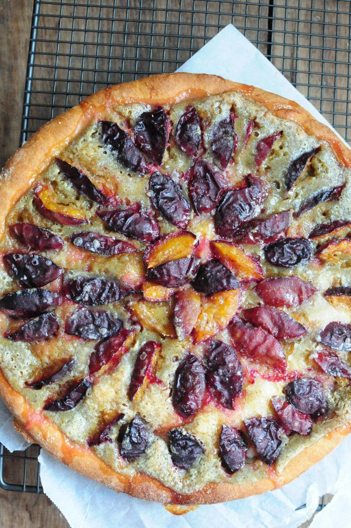 tarte brioch e aux prunes blog de cuisine cr ative recettes popotte de manue. Black Bedroom Furniture Sets. Home Design Ideas