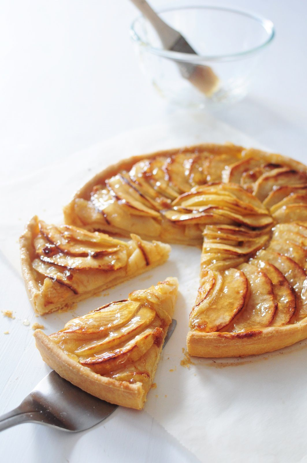 tarte aux pommes cap blog de cuisine cr ative recettes popotte de manue. Black Bedroom Furniture Sets. Home Design Ideas