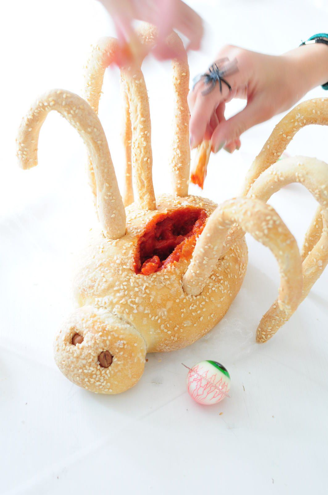 Spider Bread Recipe — Dishmaps