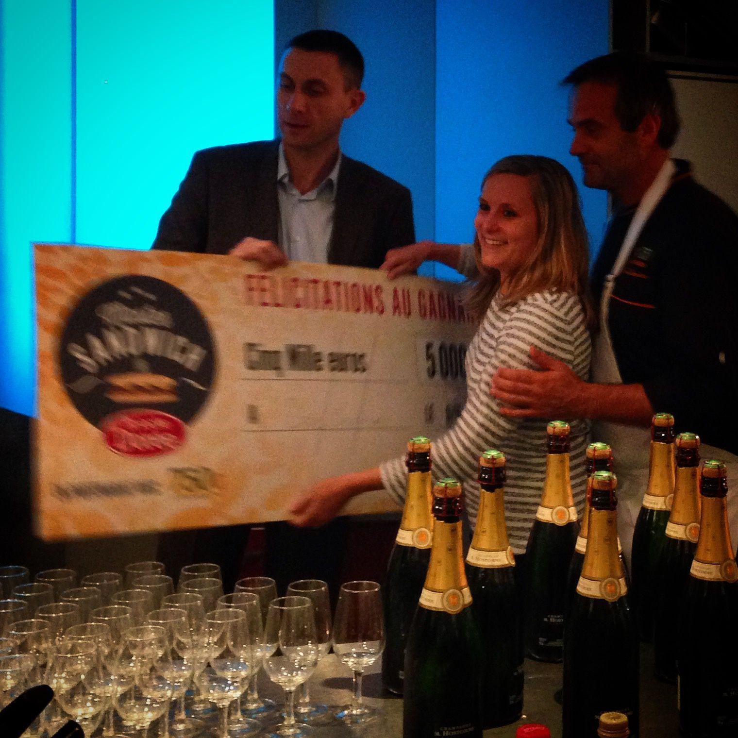 Concours Brioche Dorée ... qui a remporté les 5000 € ?