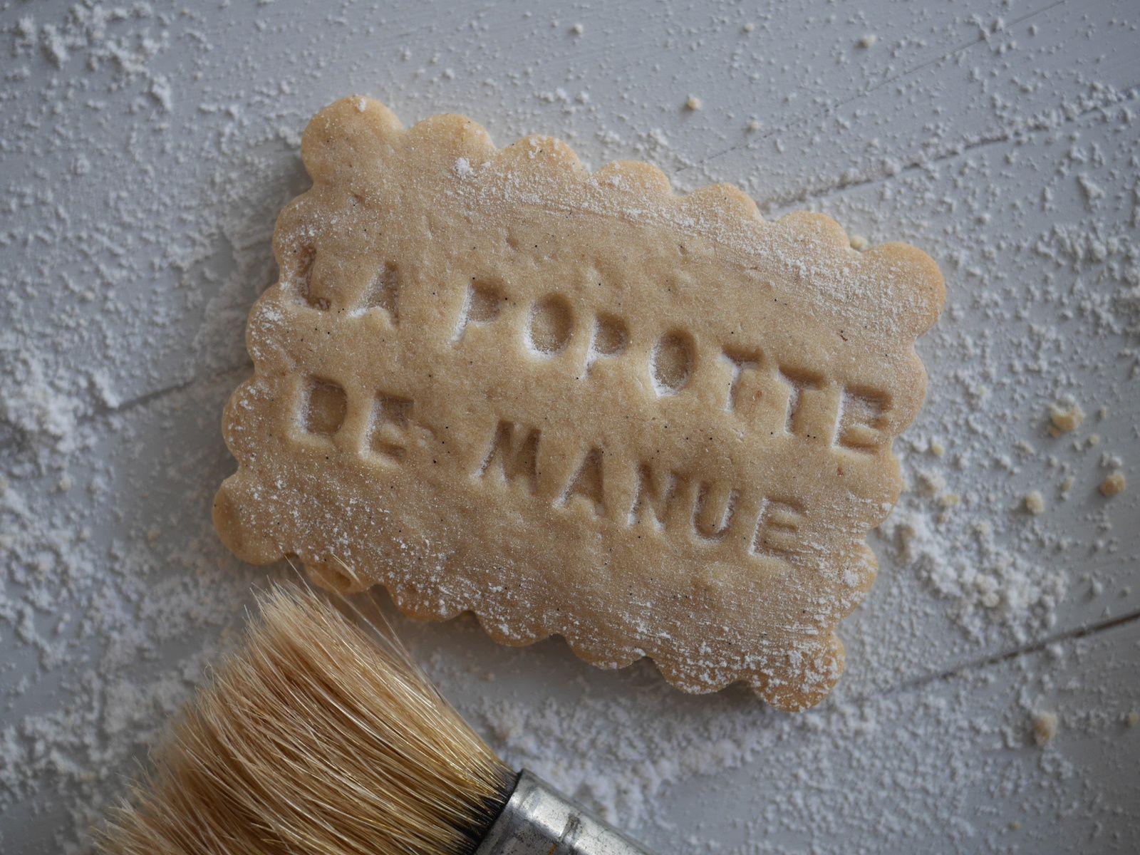 Sablés à la farine torréfiée