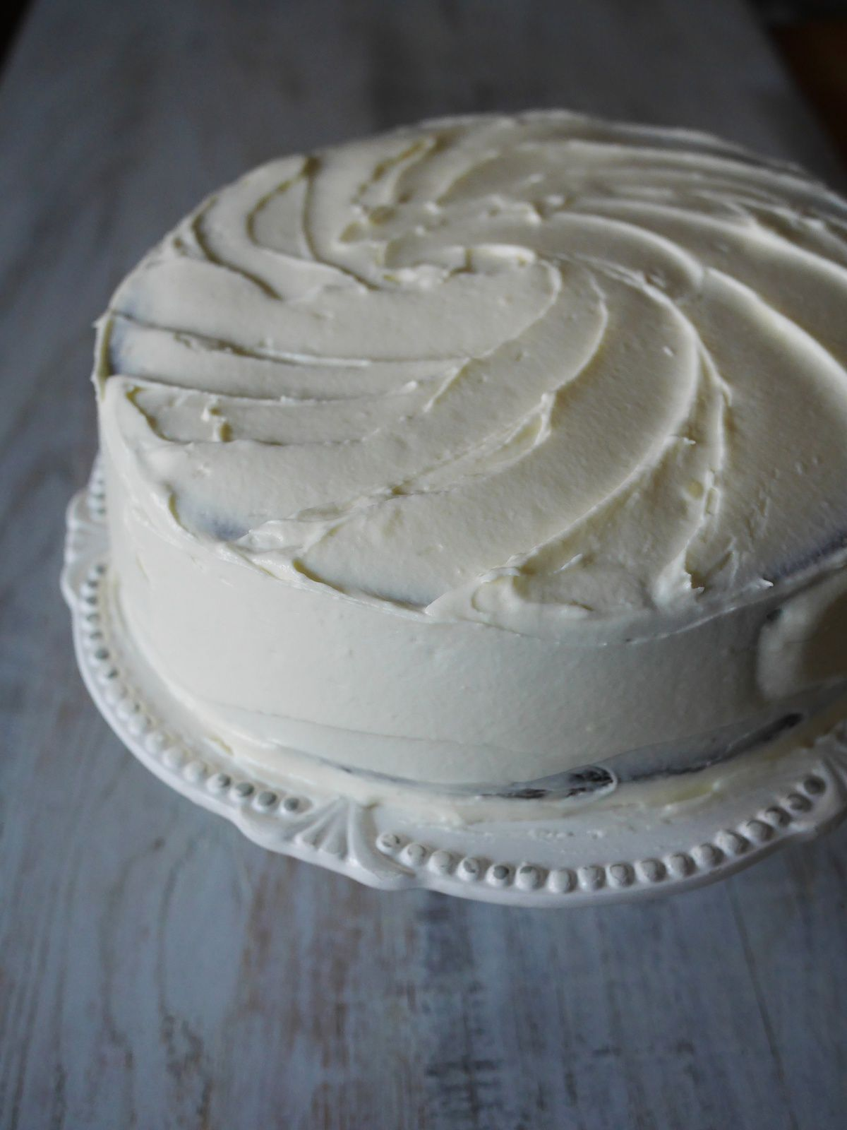 Chocolate Guinness Cake, frosting