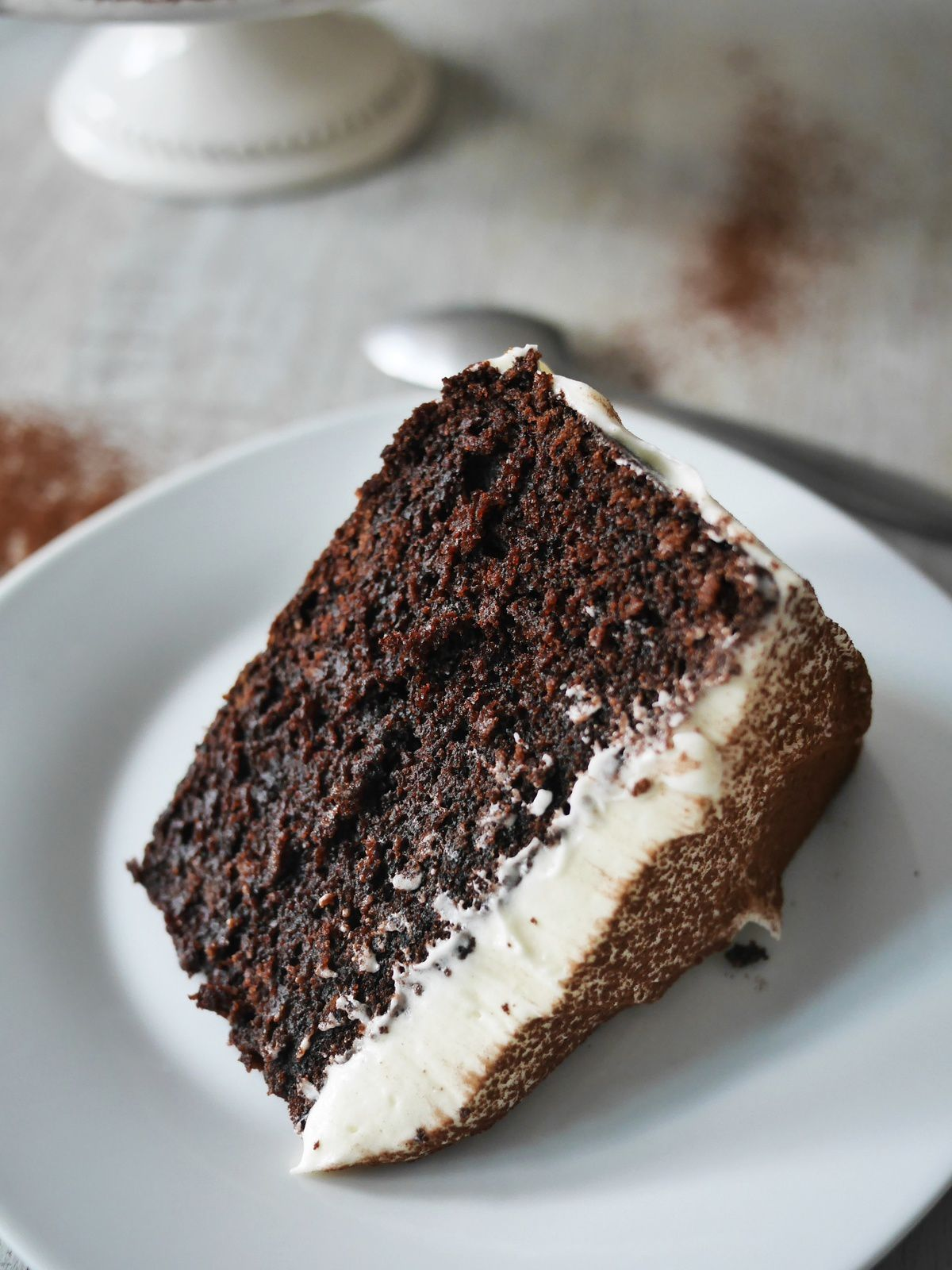 Texture <3 Chocolate Guinness cake