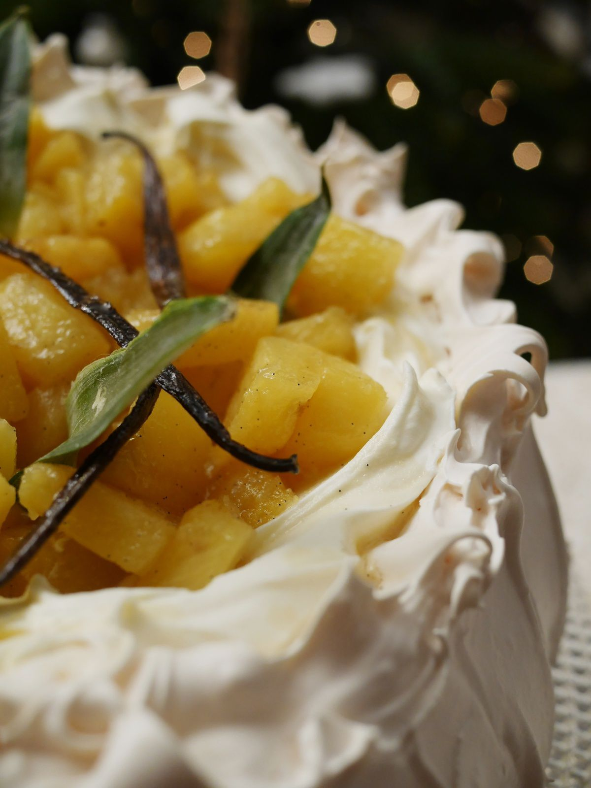 Pavlova ananas