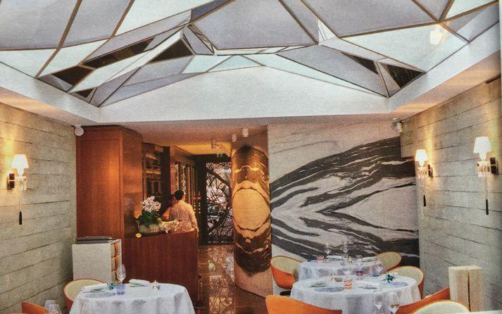 superbe article dans madame figaro pour le grand restaurant jwb j r me w bugara. Black Bedroom Furniture Sets. Home Design Ideas