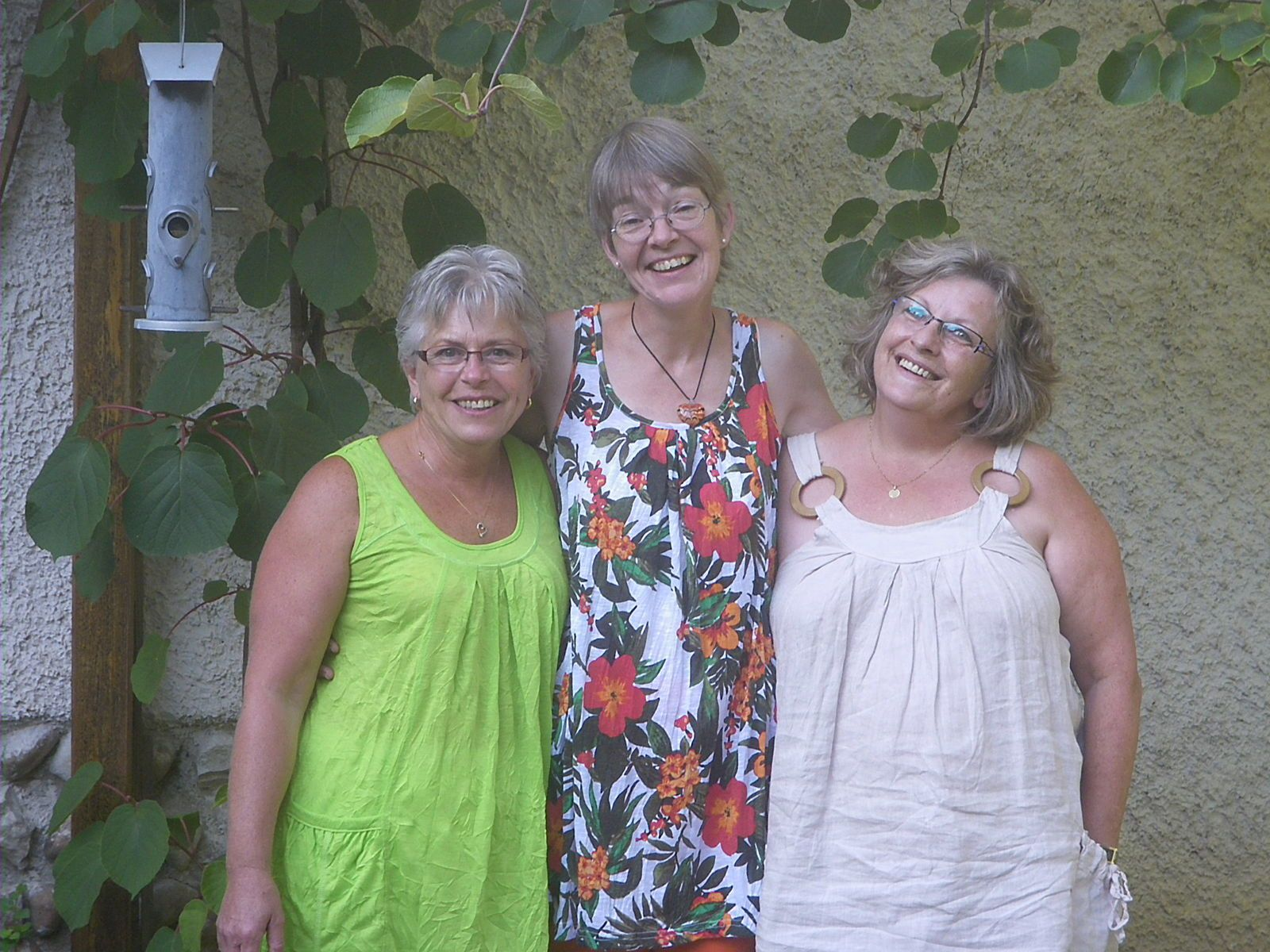 Quand trois brodeuses-patcheuses se rencontrent