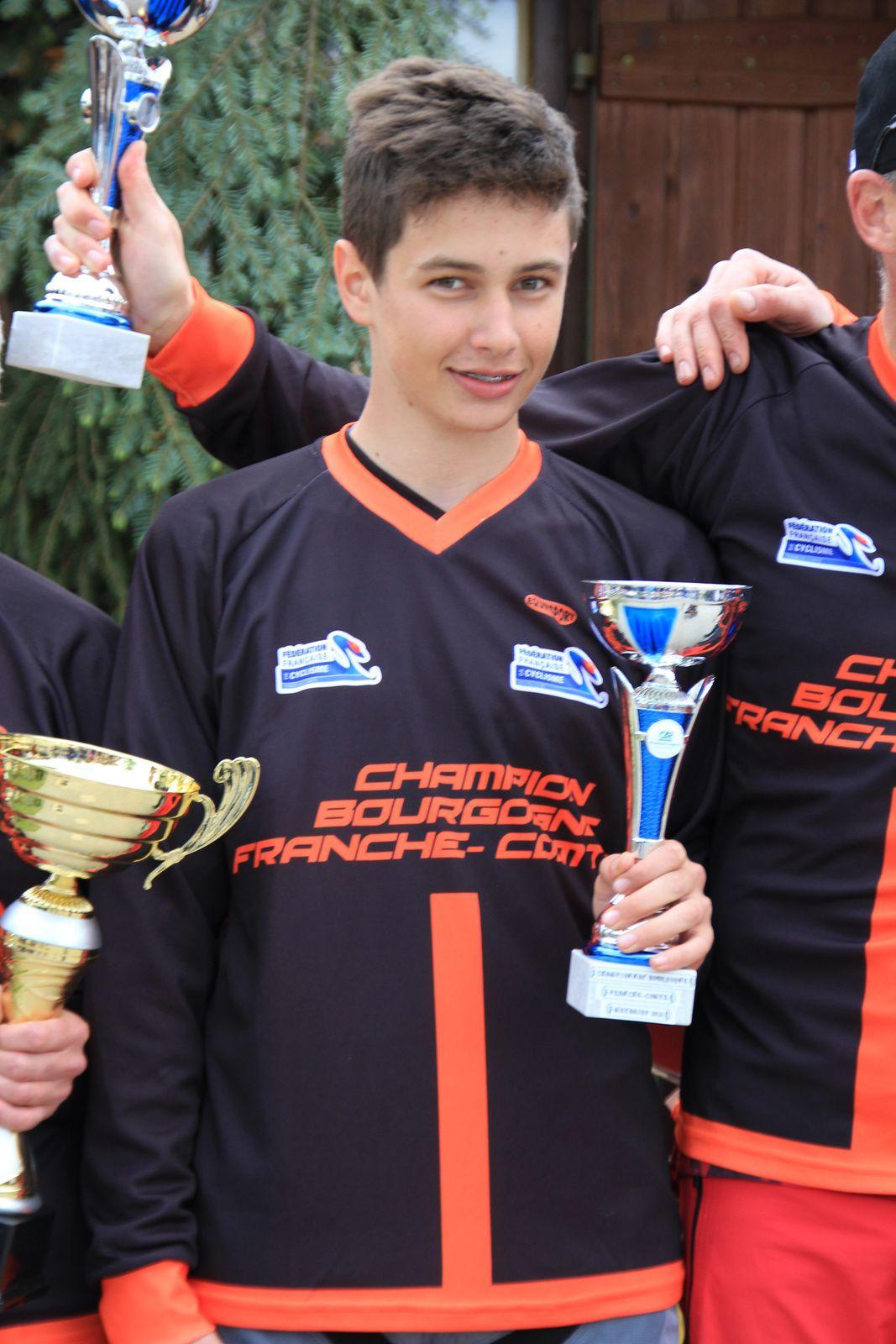 Championnat régional de descente en VTT