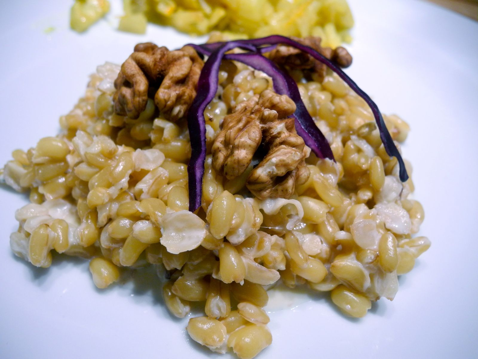 Risotto De Kamut Au Gorgonzola On Mange De Tout Mais