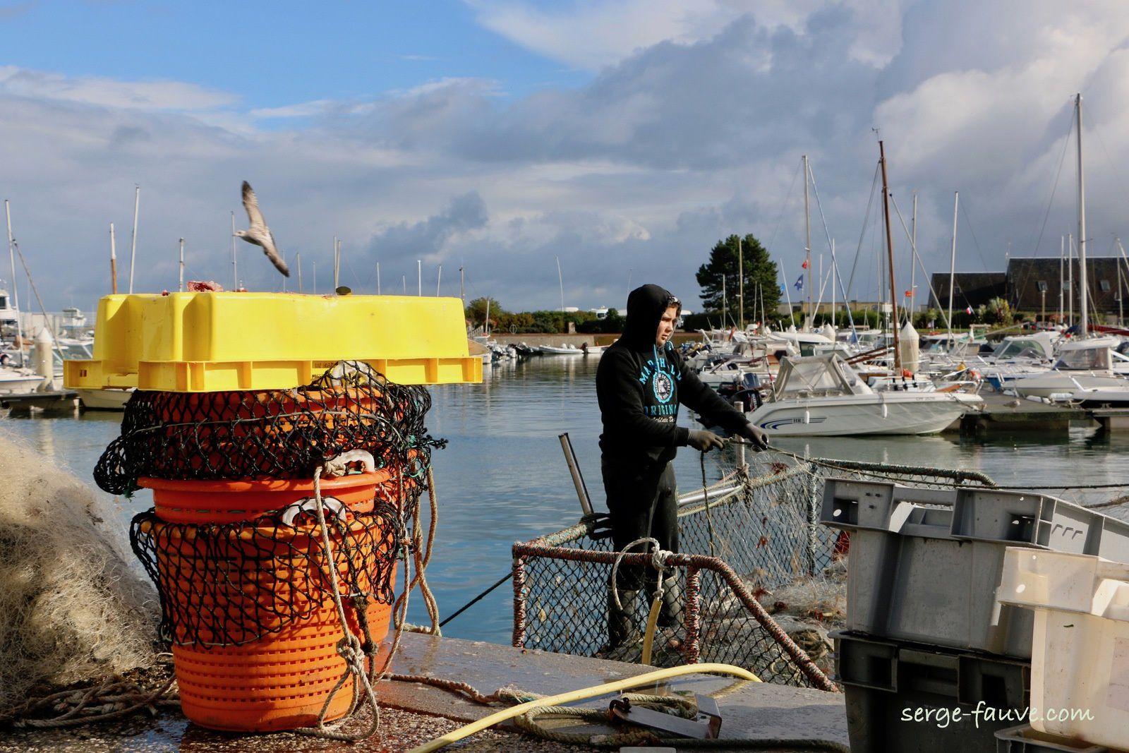 Les pêcheurs de St Vaast la Hougue : LES 12 SUIVANTES