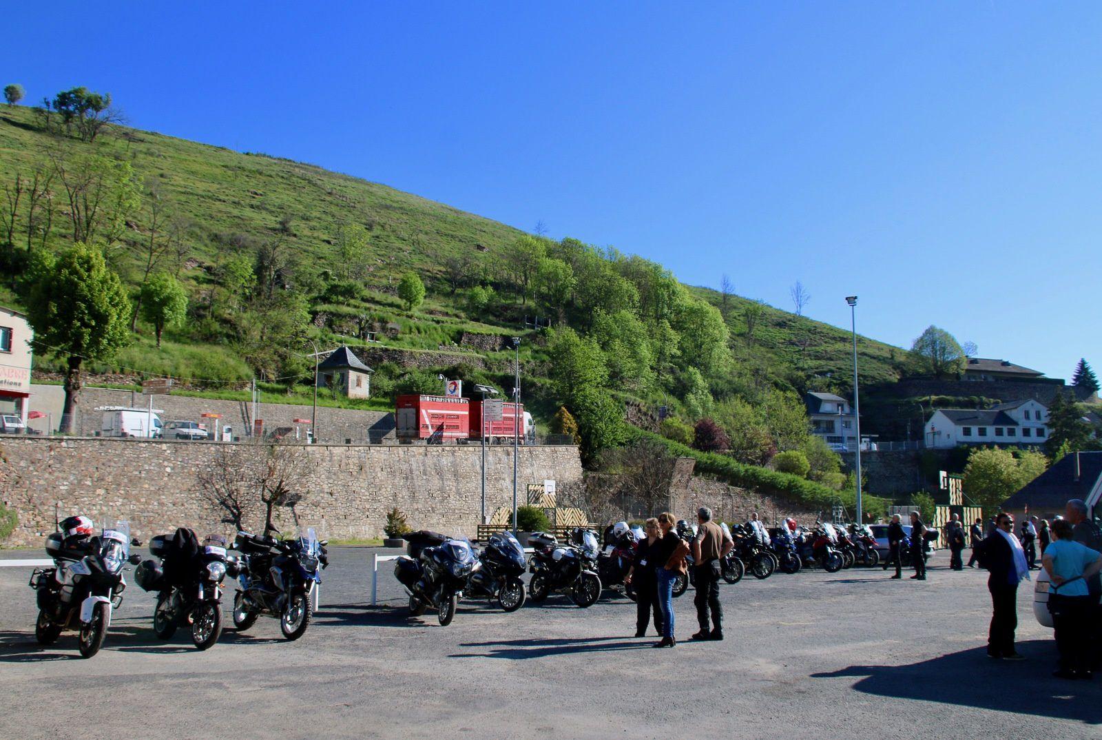 Sortie moto dans le Cantal