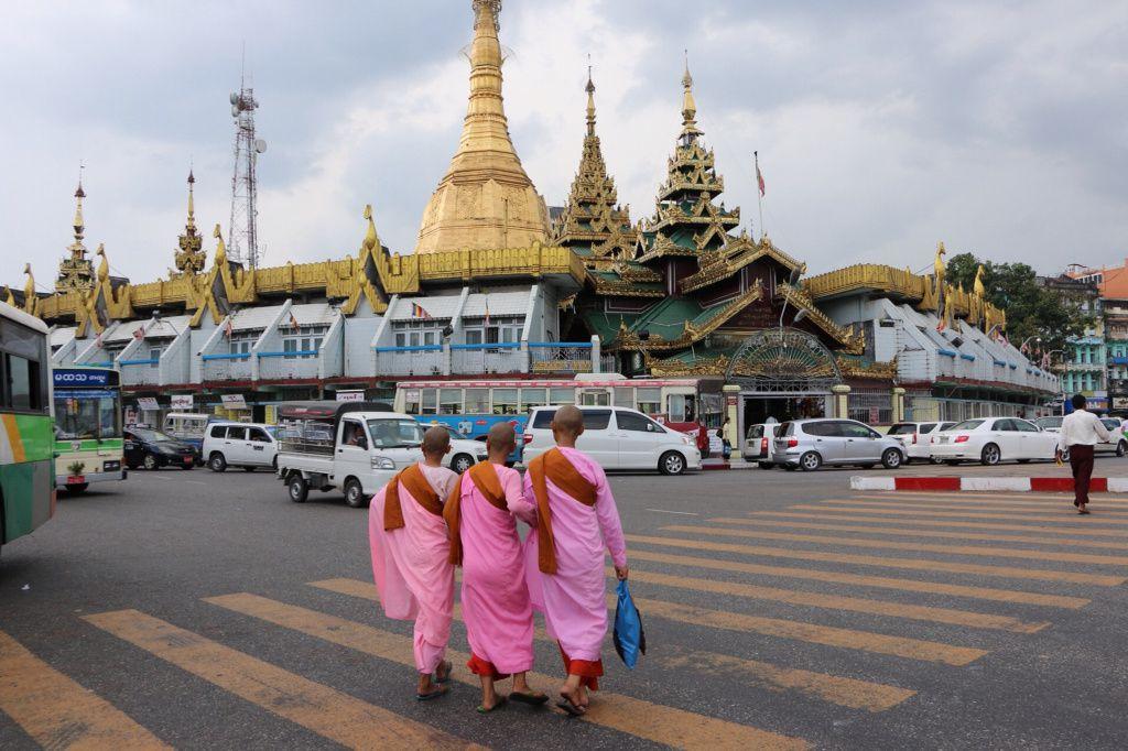 Premières photos découverte de Yangon