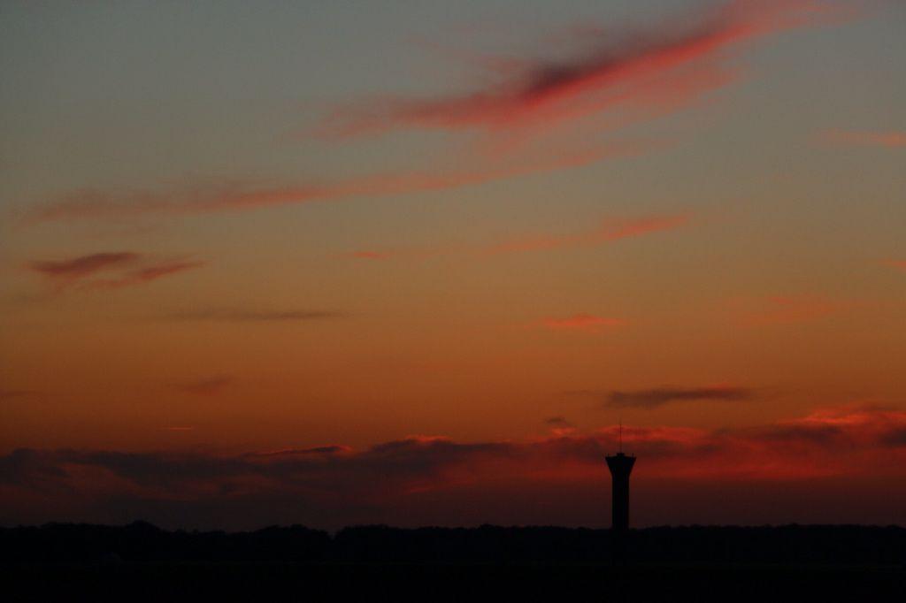 Photos : coucher de soleil ce soir à Marboué