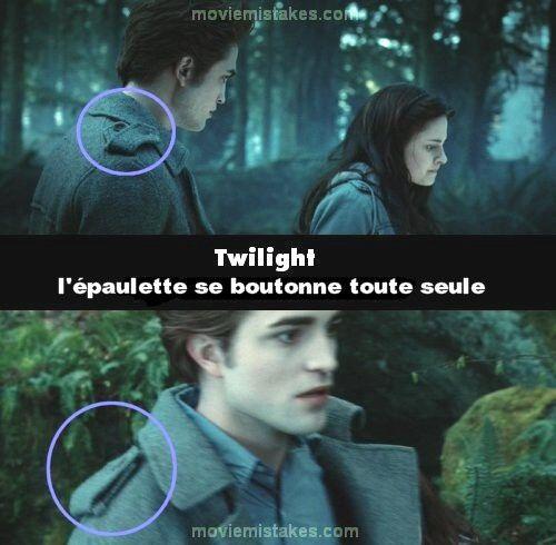 Les erreurs de twilight 1