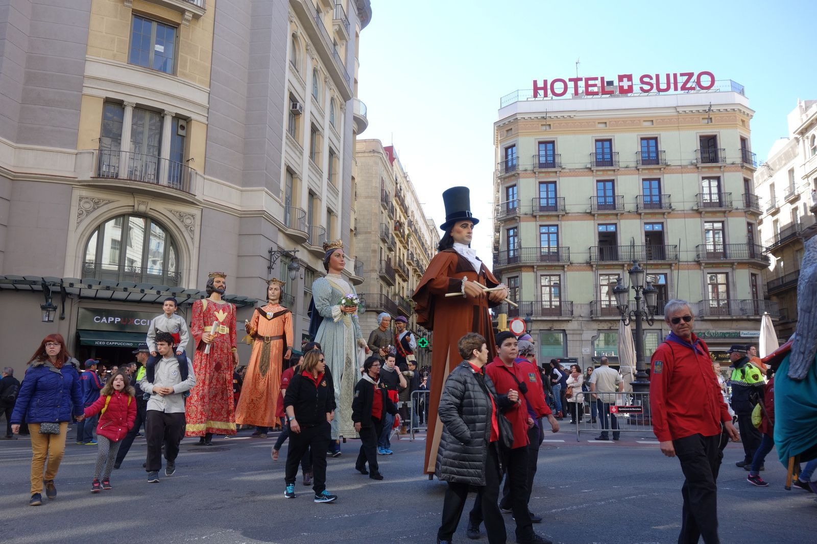 J2 Festes de Santa Eulàlia, Barcelona