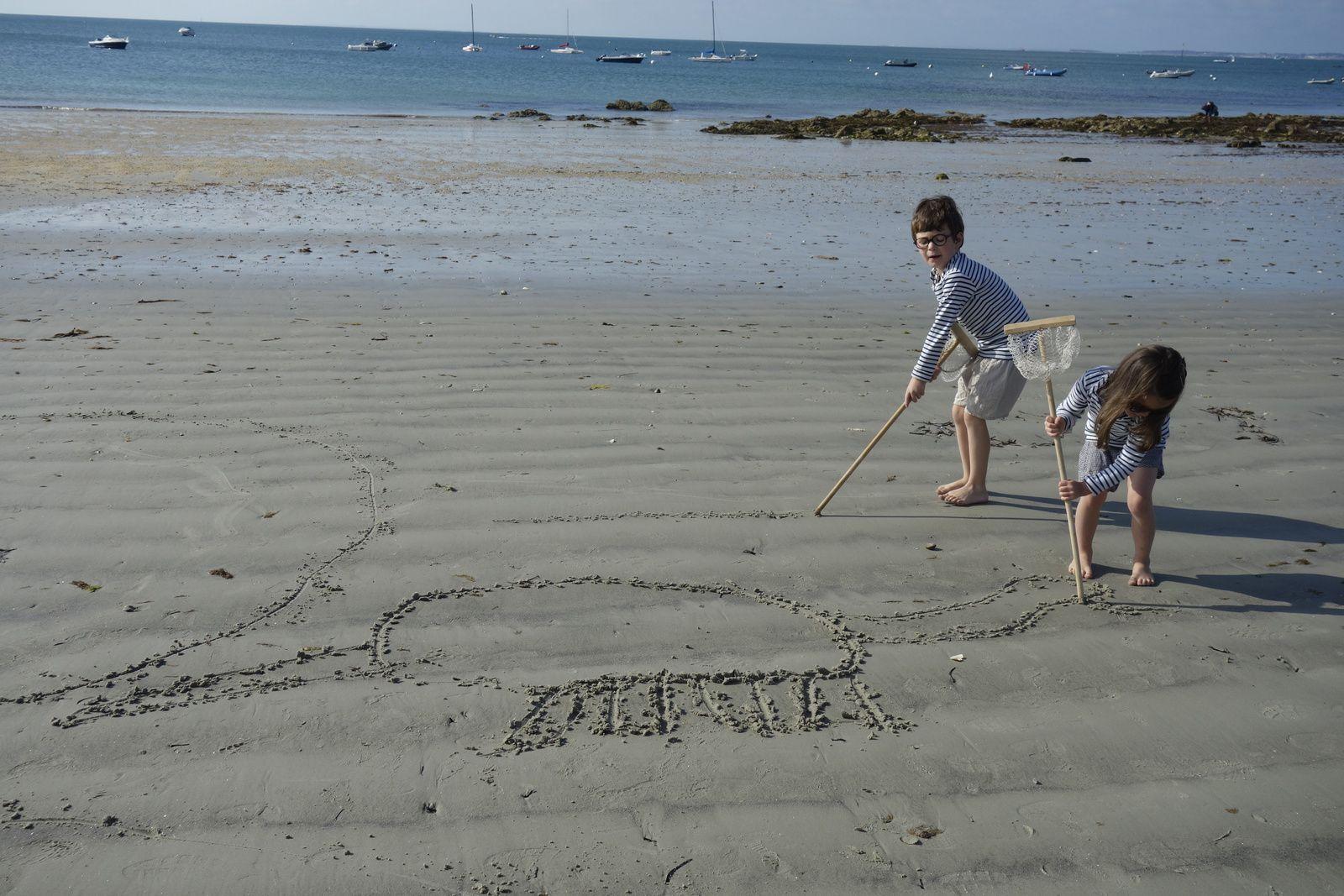Album photo de nos premiers jours en Bretagne