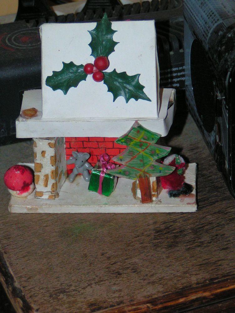 Père Noel arc-en-ciel...Petit bonhomme de neige ... cheminée et nounours Père Noël....