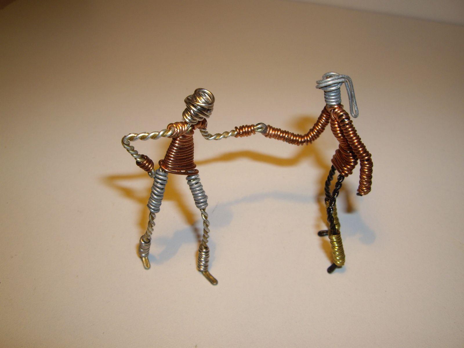 Danseurs en Muselets de Champagne.