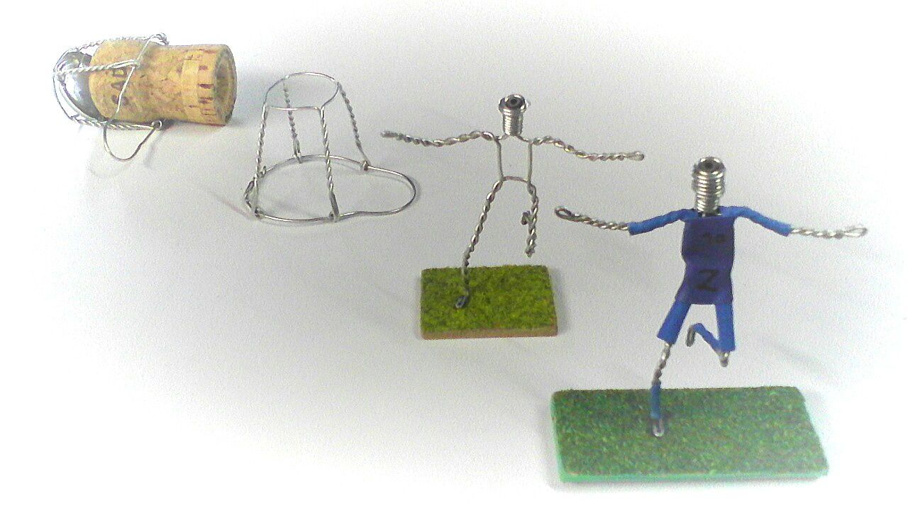 Muselets footballeurs !