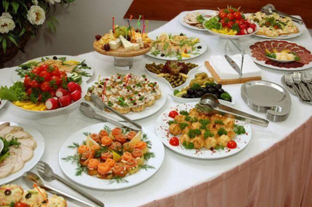 abbastanza Scegliere un menù adatto per un buffet - Ricette in pentola YC64