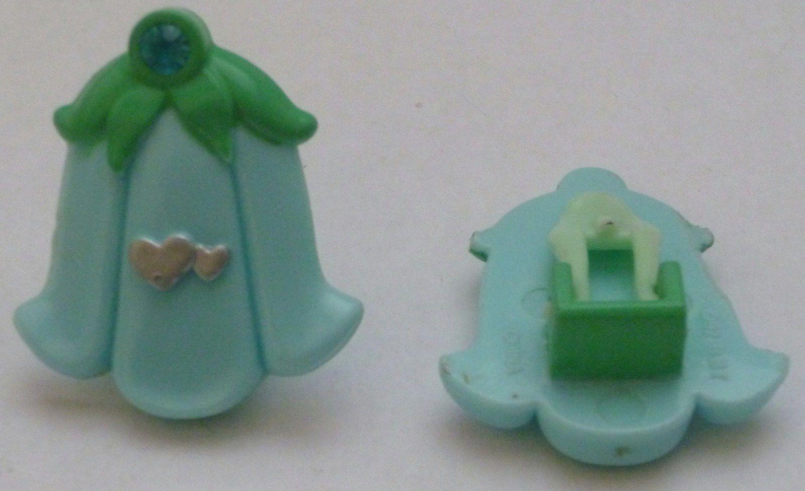 Polly Pocket 1992 Magic Wishing Bell variante verte