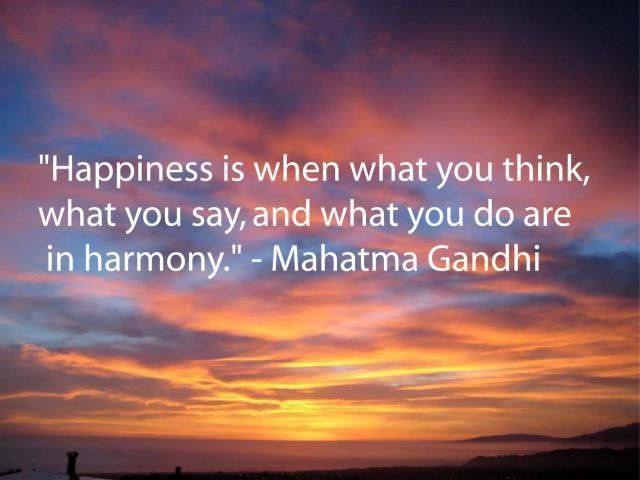 WISSHH QUOTE: Happiness is ...