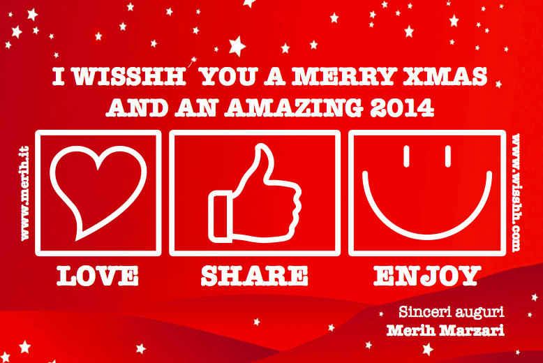 I WISSHH you a Merry Xmas & an Amazing 2014